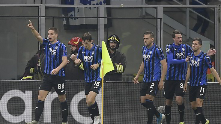 Champions, impresa Atalanta: City fermato sull'1-1, primo punto storico