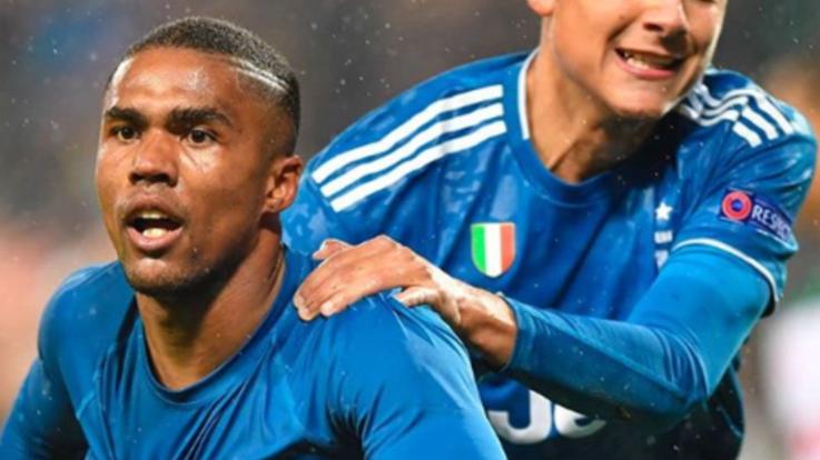 Champions, Juve espugna Mosca nel recupero: un lampo di Douglas vale gli ottavi