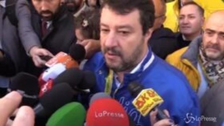 """Ex Ilva, Salvini: """"Governo di matti, non hanno piano B"""""""