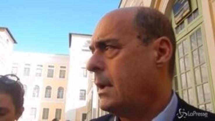 """Ex Ilva, Zingaretti: """"Uniti dobbiamo chiedere all'azienda di fare il proprio dovere"""""""
