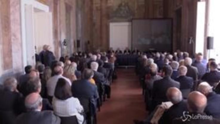 """Prodi all'anniversario dell'istituto Stoà: """"Investire su innovazione esistente e attirare laboratori e imprese"""""""