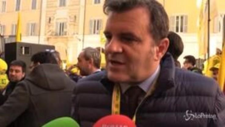 """Ex Ilva, Centinaio: """"Senza un piano B il governo deve andare a casa"""""""