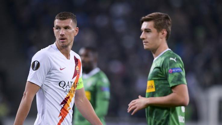 Europa League, Roma maledizione Gladbach: beffata ancora al traguardo
