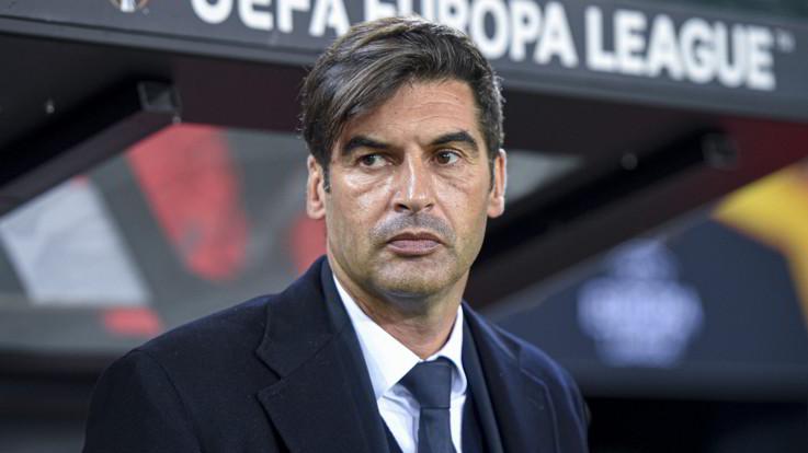 """Europa League, Fonseca: """"Risultato ingiusto"""". Pastore: """"Che delusione"""""""