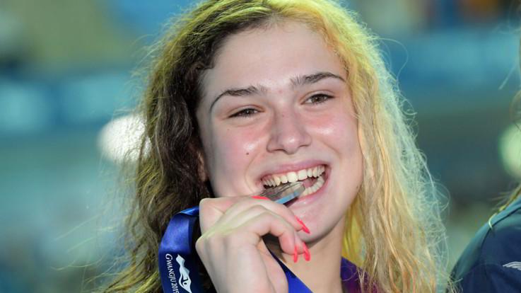 Nuovo record italiano di Bendetta Pilato nei 50 rana donne