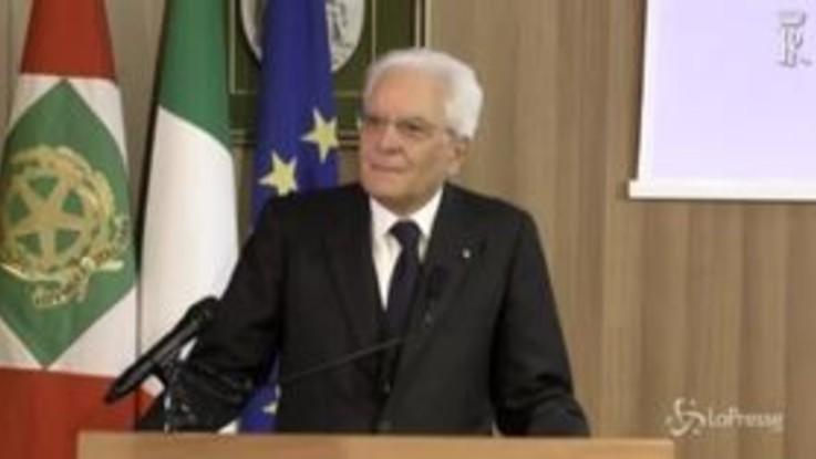 """Mattarella: """"Scorta a Segre è segno che intolleranza non è retorica"""""""
