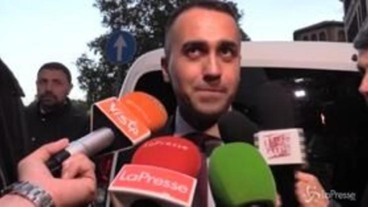 """Di Maio: """"Franceschini vuole patto più stringente? Sono d'accordo"""""""