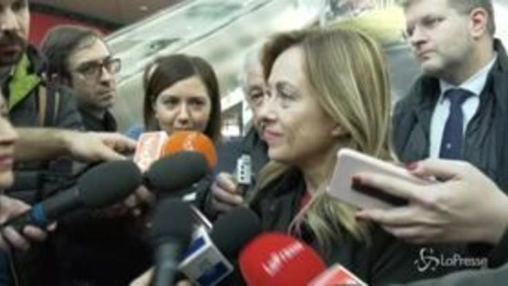 """Liliana Segre, Meloni: """"Fratelli d'Italia è al suo fianco"""""""