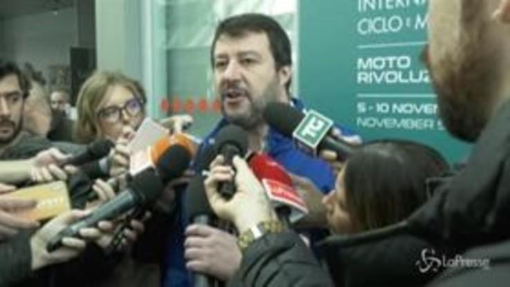 """Liliana Segre, Salvini: """"La vedrò presto, io ho appena ricevuto un proiettile"""""""