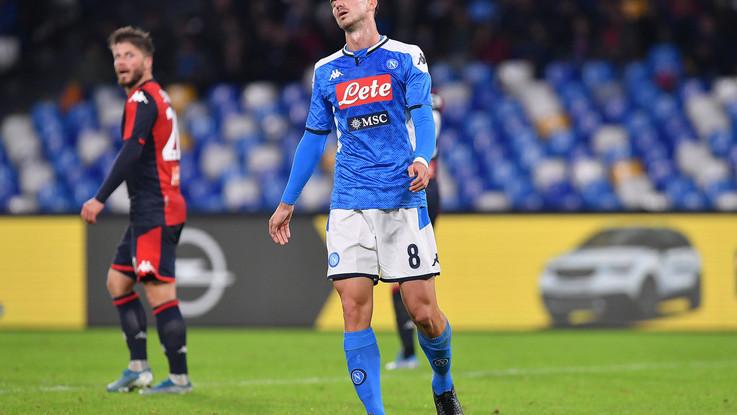 Serie A: il Napoli non esce dalla crisi, col Genoa è 0-0