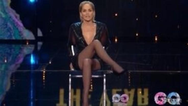 Sharon Stone rievoca le gambe accavallate in 'Basic Instinct'