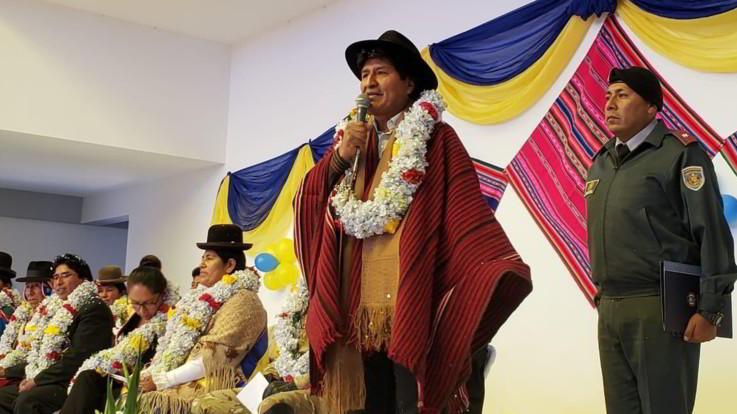 Bolivia nel caos, Morales annuncia nuove elezioni