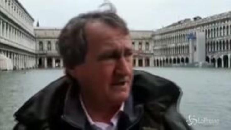 """Venezia, il sindaco Brugnaro: """"Piazza San Marco è chiusa"""""""