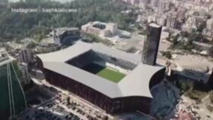 Albania, anche Tirana ha il suo Wembley