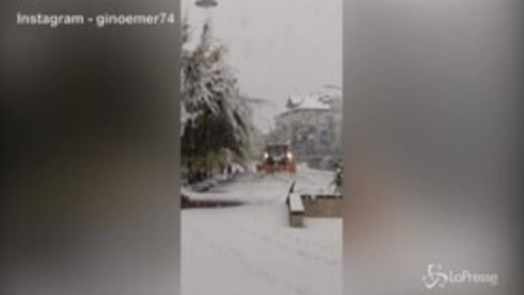 Trentino Alto-Adige coperto dalla neve