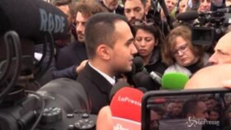 """Di Maio: """"Per M5s non è un momento semplice, abbiamo bisogno di riflettere"""""""