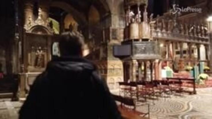 San Marco, dentro la Basilica: i danni dopo le inondazioni