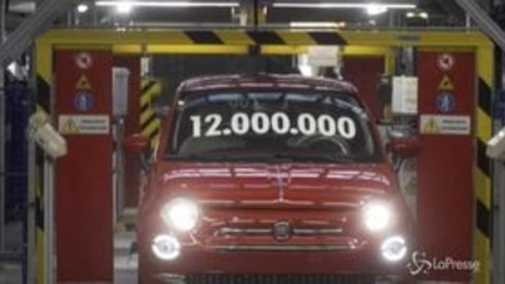 Fca, in Polonia la 12milionesima vettura: è una 500 rossa