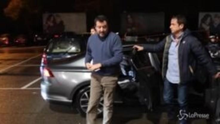 """Salvini: """"Ilaria Cucchi mi querela? Non ho paura, ci vedremo in tribunale"""""""