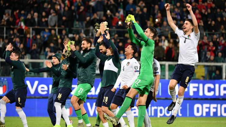 Qualificazioni Euro2020, l'Italia travolge l'Armenia 9-1