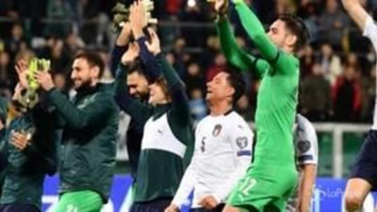 Euro 2020, l'Italia travolge l'Armenia 9-1