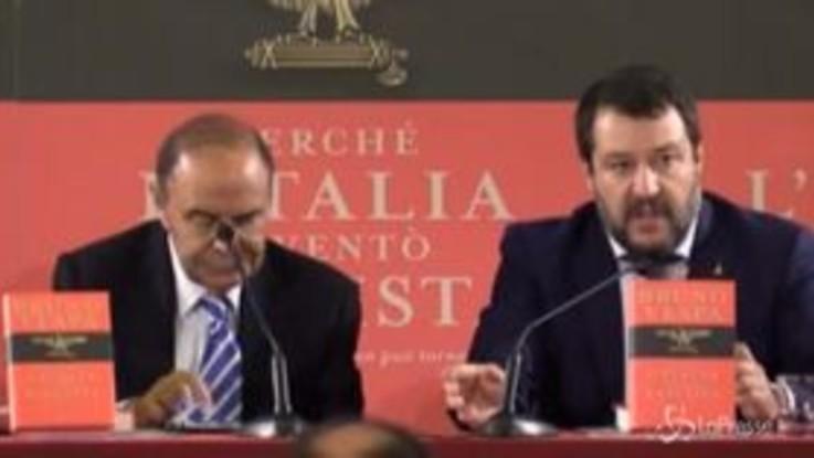 """Mes, Salvini: """"Conte mente, se ha dato l'ok ha tradito il mandato degli italiani"""""""