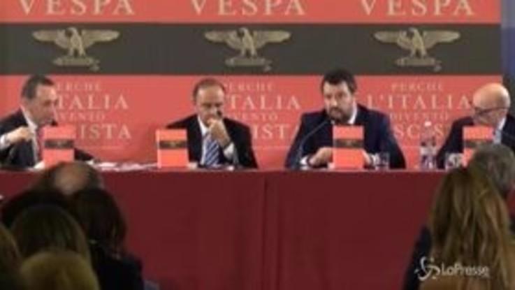 """Sardine, Salvini: """"Sono solo piazze contro, gente che fa vita grama"""""""