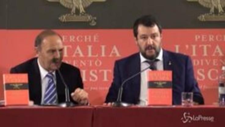 """Segre, Salvini: """"Io le avrei dato la cittadinanza onoraria"""""""