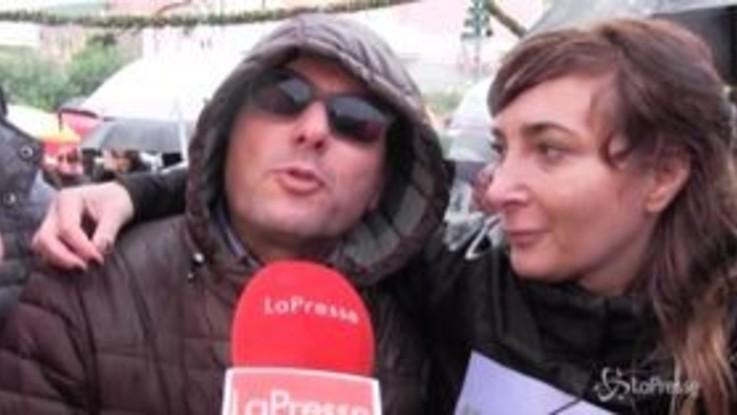 """Sorrento, le Sardine-'Fravaglie' accolgono Salvini: """"Qui per dire che c'è un'alternativa all'odio"""""""