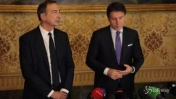 """Alitalia, Conte: """"Serve una soluzione industriale"""""""