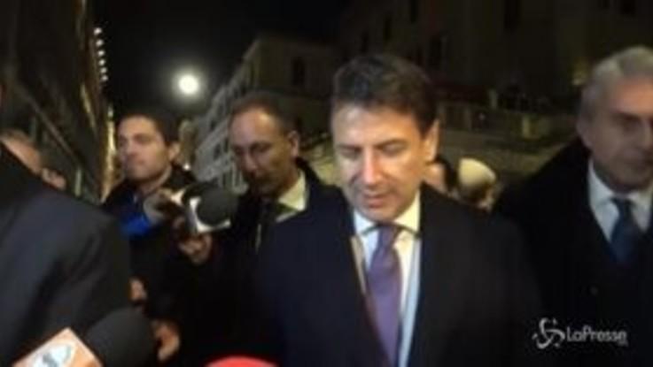 """Conte dopo la cena con i ministri: """"Nessun litigio"""""""