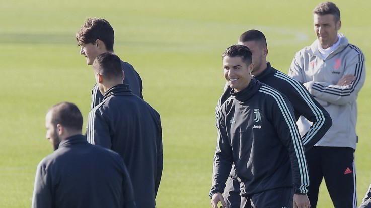 """Juve, Pjanic in gruppo, CR7 a parte. Elkann: """"Forti anche domani"""""""