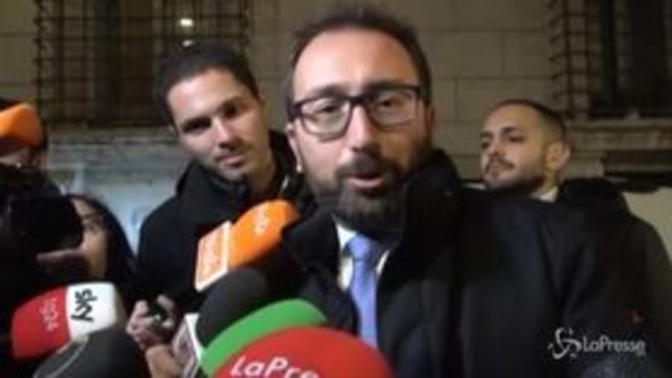 """Regionali, Bonafede: """"Il governo va avanti in ogni caso"""""""