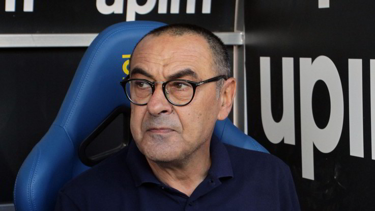 """Atalanta-Juve, Sarri: """"Importante imporre il nostro gioco. Ronaldo al 99% ai box"""""""