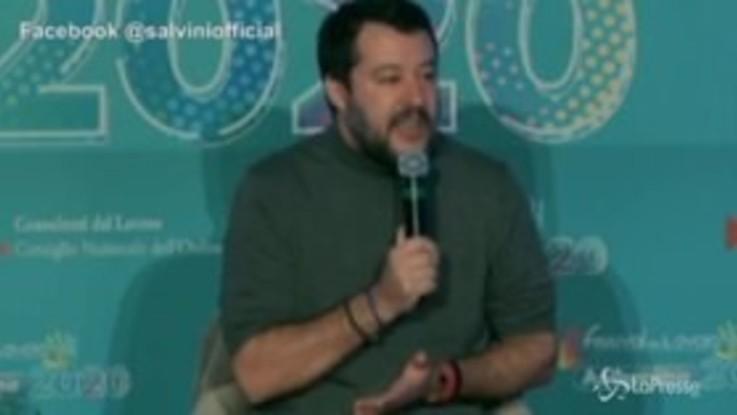 """Manovra, Salvini: """"La totale instabilità pesa più delle tasse"""""""