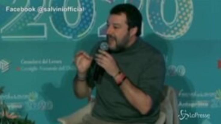 """Governo, Salvini: """"Il problema non è la Lega, l'opposizione è già dentro la maggioranza"""""""