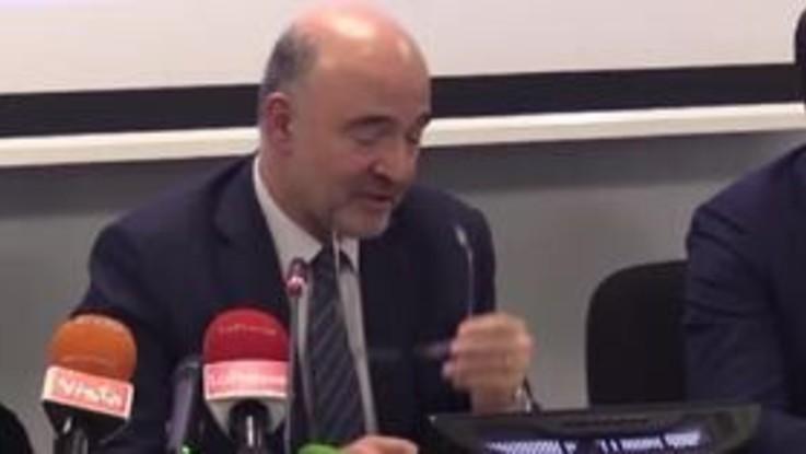 """Moscovici: """"Questo governo più orientato a rispetto regole. Con Salvini non sempre d'accordo"""""""