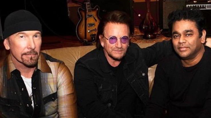 U2: ecco 'Ahimsa',  il nuovo singolo con  A.R. Rahman