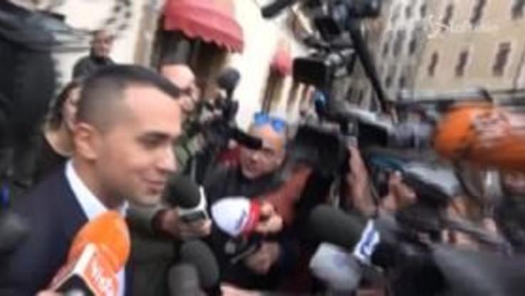 """Di Maio dopo incontro con Grillo: """"Siamo d'accordo su tutto"""""""