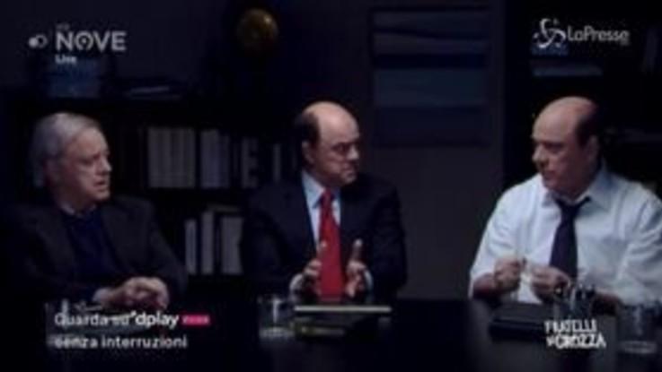 """Crozza/Bersani e la protesta del totano: """"C'ha dei valori ben diversi dal qualunquismo sardinico"""""""