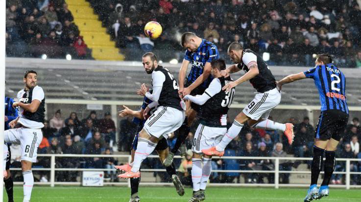 Serie A, Higuain e Dybala ribaltano l'Atalanta. La Juve passa 3-1