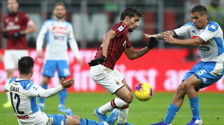 Milan-Napoli: un 1-1 che serve poco a entrambe