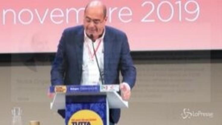 """Governo, Zingaretti: """"Pronti a confronto con M5s"""""""
