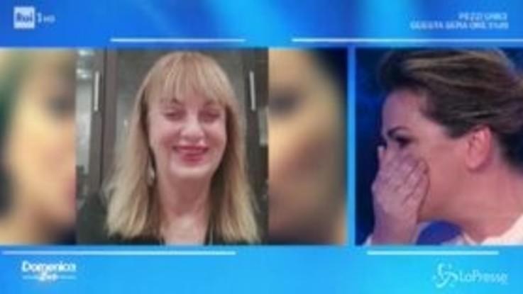 Messaggio della madre, Vanessa Incontrada scoppia in lacrime