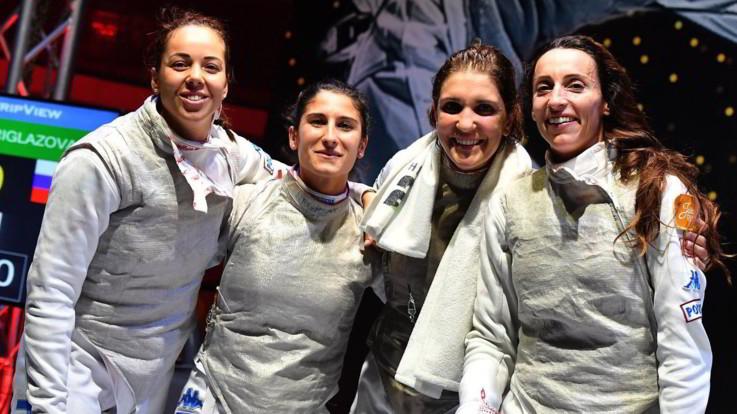Scherma, Coppa del Mondo: trionfo azzurro nel fioretto a Il Cairo