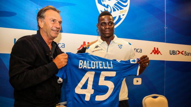 """Cellino, battuta shock su Balotelli: """"È nero, sta lavorando per schiarirsi"""""""