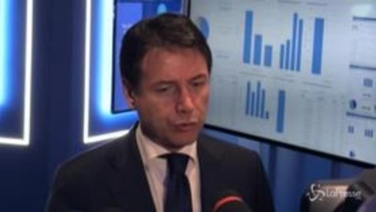 """Conte: """"Stanziati 11 miliardi, ora accelerare con cantieri contro dissesto idrogeologico"""""""