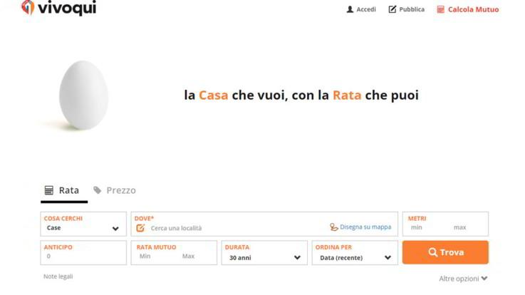Nasce 'Vivoqui.it' il portale dell'immobiliare che ti aiuta a trovare casa e mutuo in un solo click