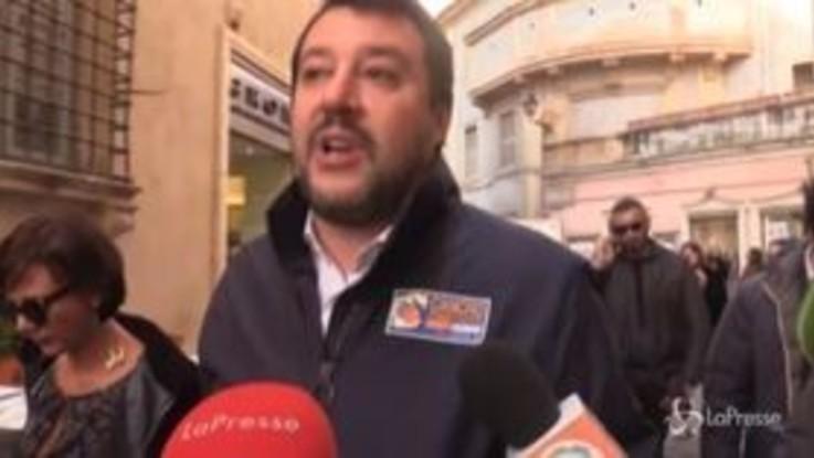 """Maltempo Liguria, Salvini: """"Progetti bloccati nelle nebbie del Ministero dei Trasporti"""""""