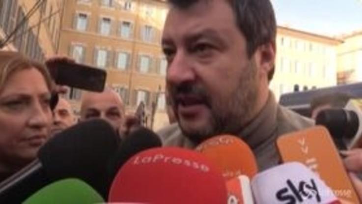 """Manifestazione nazionale ambulanti, Salvini: """"Il governo cambia idea ogni giorno"""""""